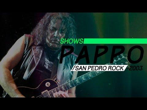 Pappo video San Pedro Rock 1 (2003) - Show Completo