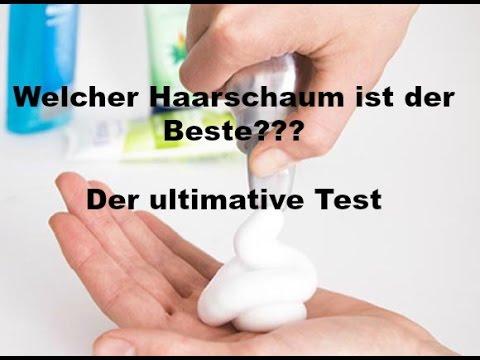 Der ultimative Test // Welcher Haarschaum überzeugt mich?