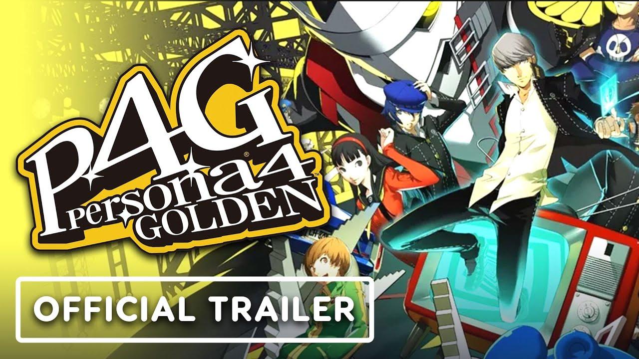 Steam-трейлер игры Persona 4 Golden