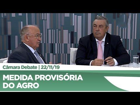 Medida provisória do Agro é tema de debate entre deputados