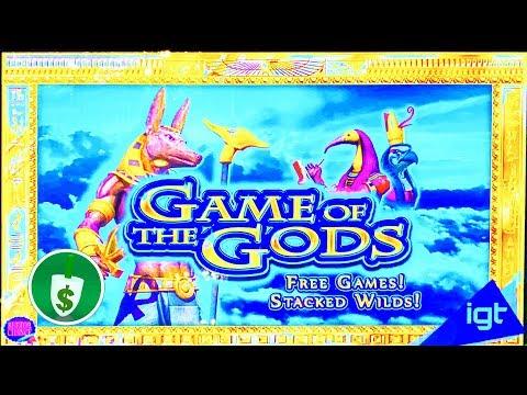 Game of the Gods slot machine, bonus