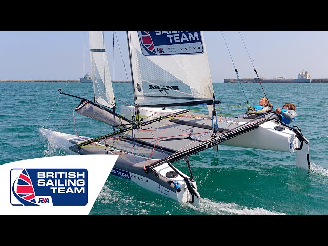Olympics 2016 - Nacra 17 - Ben Saxton & Nicola Groves - British Sailing Team