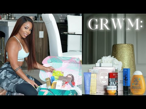 GRWM: GYM DAY & unboxing MUST HAVES | Fab Fit Fun Summer Box