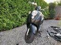Scooter Mat Zwart Spuiten! [ Spuitbussen van de Action! ]