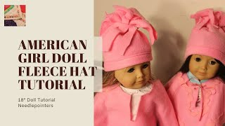 How To Make A Fleece Doll Hat