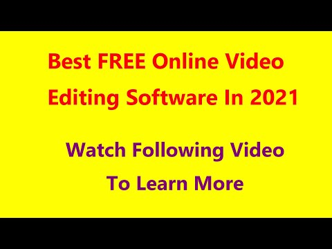 Download Best FREE Online Video Editing Software In 2021 HD Mp4 3GP Video and MP3