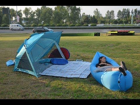 Quick Shell Strandmuschel und Sonnenschirm Strandzelt beach canpoy shelter tent  Cabana