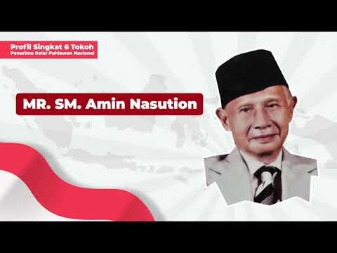 Profil Penerima Gelar Pahlawan Nasional: MR SM Amin Nasution