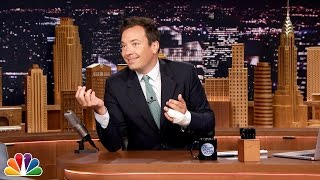 Jimmy Fallon Explains His Finger Injury