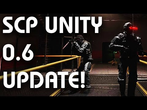 SCP Containment Breach UNITY Remake v0 6 - NEW UPDATE