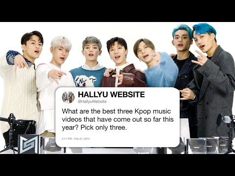 SuperM Answers K-Pop Questions From Twitter | Tech Support | WIRED