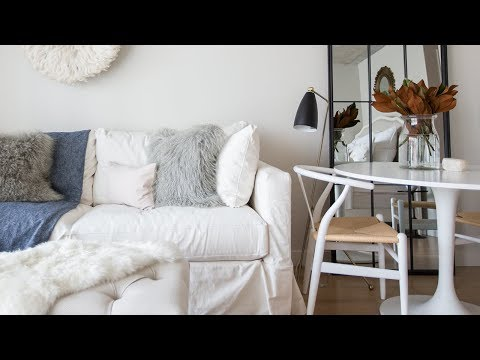 Interior Design — How To Decorate a 400-square-foot Bachelorette Rental