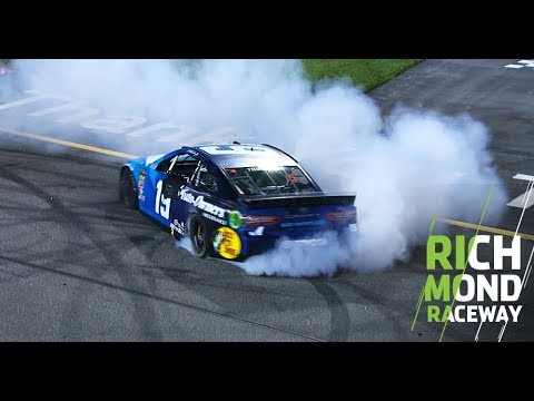 Short track, long burnout: Truex at Richmond