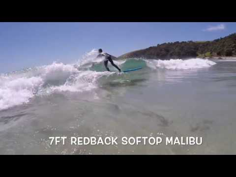 Redback 6ft 6″ Revolution & 7ft Classic Malibu Softboards