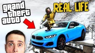 NOUL BMW Seria 8 , ARUNCAT PE MUNTE! Real Life