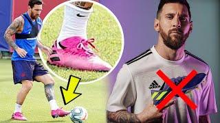 Messi trägt eigenen Fußballschuh NICHT?!