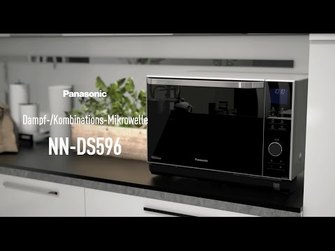 Panasonic Dampf-/Kombinations-Mikrowelle NN-DS596M - Produktvorstellung