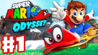Super Mario Odyssey Gameplay Walkthrough Part 1! Cascade Kingdom Gameplay! NEXT ► http://zack.watch/MarioOdysseyPart2  PLAYLIST ► http://zack.watch/MarioOdysseyList SUBSCRIBE ► http://bit.ly/ZackScottGames ► Thanks for every Like, Share, and Comment! ◄  Thanks for watching my Super Mario Odyssey Gameplay and Walkthrough! I've been a fan of Mario games for years, and I'm so excited to be playing this game on the Nintendo Switch! You may have seen a trailer or review, but this playthrough will feature my impressions, reactions, and commentary throughout the full game including the ending! I will be fighting all bosses, and acquiring all coins and Power Moons! If you're a fan of Nintendo, then let's play Super Mario Odyssey! Subscribe to ZackScottGames for new episodes of Super Mario Odyssey today!  SUPER MARIO ODYSSEY Explore incredible places far from the Mushroom Kingdom as you join Mario and his new ally Cappy on a massive, globe-trotting 3D adventure.Use amazing new abilities—like the power to capture and control objects, animals, and enemies—to collect Power Moons so you can power up the Odyssey airship and save Princess Peach from Bowser's wedding plans! Thanks to heroic, hat-shaped Cappy, Mario's got new moves that'll make you rethink his traditional run-and-jump gameplay—like cap jump, cap throw, and capture. Use captured cohorts such as enemies, objects, and animals to progress through the game and uncover loads of hidden collectibles. And if you feel like playing with a friend, just pass them a Joy-Con controller! Player 1 controls Mario while Player 2 controls Cappy. This sandbox-style 3D Mario adventure—the first since 1996's beloved Super Mario 64 and 2002's Nintendo GameCube classic Super Mario Sunshine—is packed with secrets and surprises, plus exciting new kingdoms to explore.  SUBSCRIBE ► http://bit.ly/ZackScottGames I'm ZackScott! Subscribe if you have not! New videos every day! Thanks for every Like, Share, and Comment!  MORE ZACKSCOTT Subscribe ► http://bit.ly/ZackScottGames Shirts ► http://shirts.zackscott.com Discord ► http://discord.gg/ZackScottGames Twitch ► http://twitch.tv/ZackScottGames Twitter ► http://twitter.com/ZackScott Instagram ► http://instagram.com/ZackScott Facebook ► http://facebook.com/ZackScott Snapchat ► http://snapchat.com/add/ZackScottGames Steam ► http://steamcommunity.com/groups/ZackScott Steam Curator ► http://store.steampowered.com/curator/2830521/ Tumblr ► http://ZackScott.tumblr.com  GAME INFO Name: Super Mario Odyssey Developer: Nintendo Publisher: Nintendo Platforms: Nintendo Switch Release Date: October 27, 2017 Website: http://supermario.nintendo.com