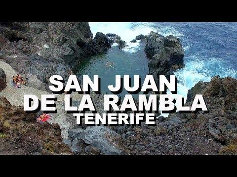 QUÉ HACER EN TENERIFE norte Charco de La Laja y Sendero del Agua - San Juan de la Rambla