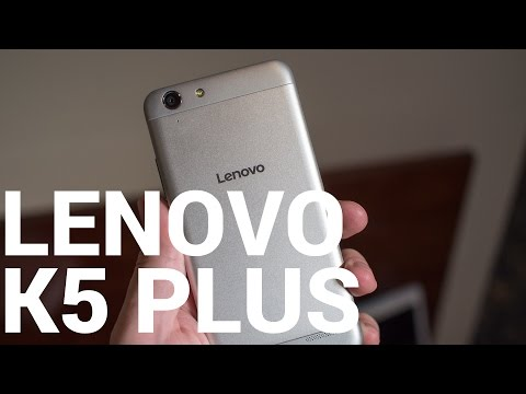 Lenovo Vibe K5 Plus hands-on