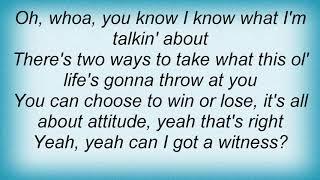Wynonna Judd - Attitude Lyrics