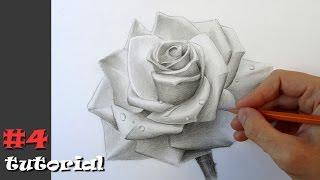 Как быстро и красиво нарисовать розу