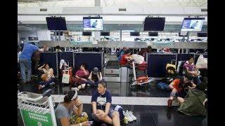 Hong Kong airport cancels all flights amid protests