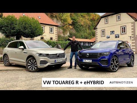 VW Touareg R und eHybrid 2021: Plug-in Hybrid im Review, Test, Fahrbericht