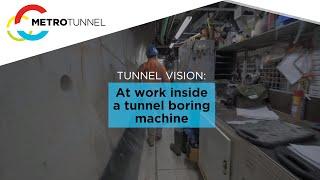 Tunnel Boring Machine tour
