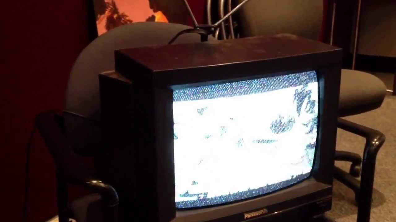 The Death Of Analogue TV, Caught On Camera