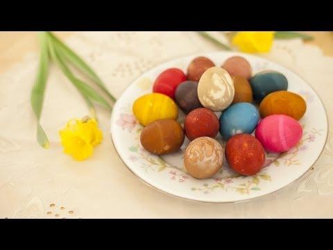 Anleitung: Ostereier natürlich färben mit Naturfarben
