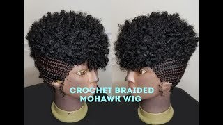 Wow! Its A Wig! Crochet Braided Mohawk Wig
