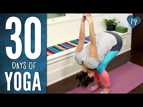 Day 19: 30 Days of Yoga Challenge – Eat. Move. Live. Love.