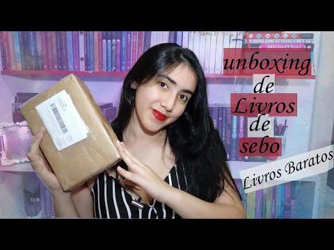 ?UNBOXING ? |Livros de sebo baratos? | Leticia Ferfer | Livro Livro Meu