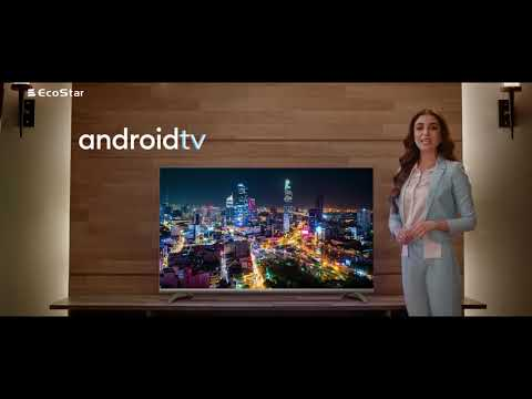 EcoStar Android TV with Licensed streaming Apps