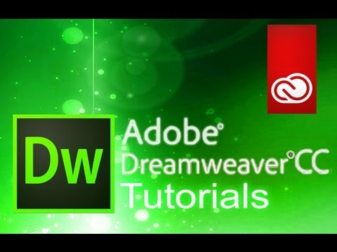 dreamweaver cc  tutorial for beginners