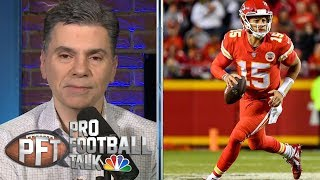 Patrick Mahomes restricted from playing basketball by Chiefs | Pro Football Talk | NBC Sports