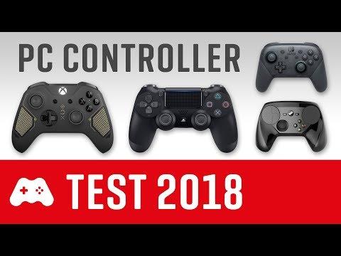 Der beste PC Controller für 2018 ► Der große Test & Vergleich (PS4, Xbox One, Switch, Steam)