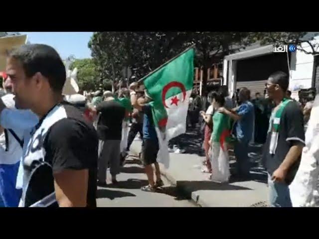 """مظاهرات الجمعة 26 بالجزاير:"""" دولة مدنية ماشي بوليسية"""""""