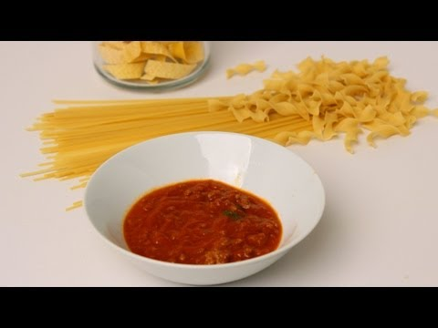 Homemade Meat Sauce Recipe – Laura Vitale – Laura in the Kitchen Episode 449