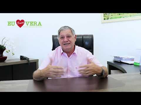 Imagen da Vídeo - Parabéns Vera pelos seus 35 anos, e parabéns a todos os verenses. A mensagem de hoje é do Prefeito Municipal Moacir Luiz Giacomelli.