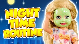 Barbie - Annabelle's Night Time Routine | Ep.276