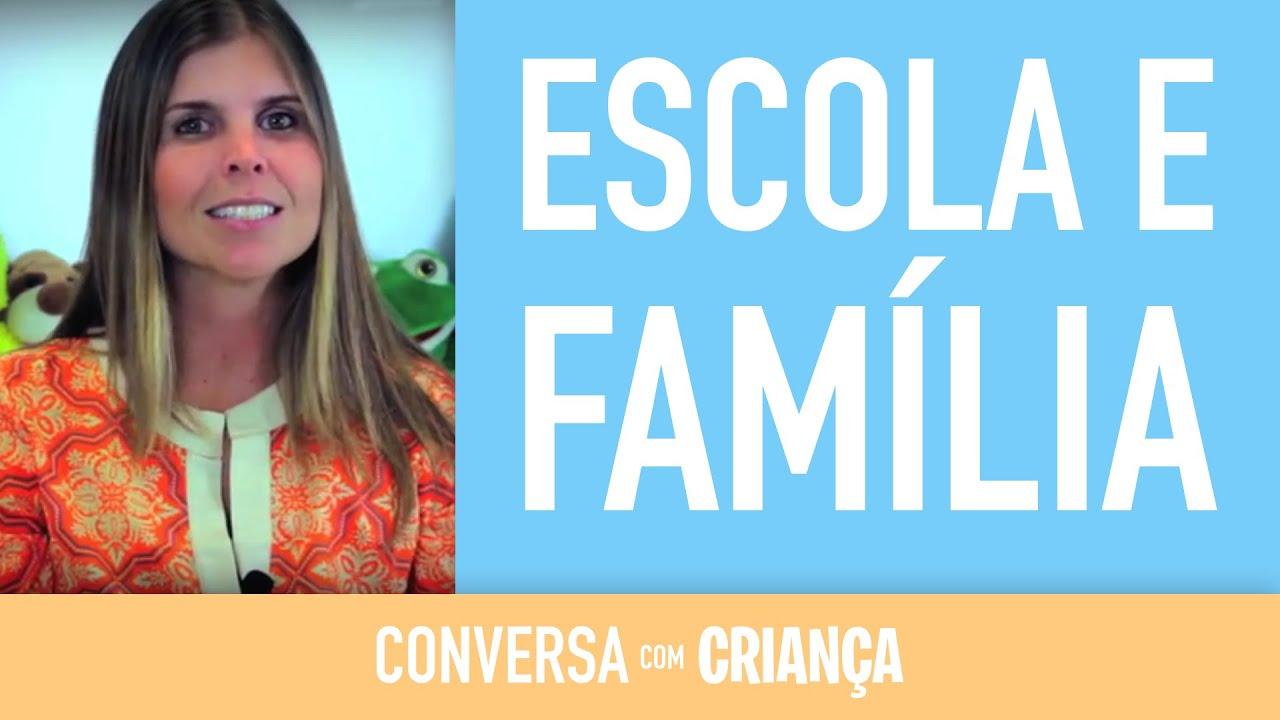 Parceria Escola e Família | Parents-school Partnership | Psicóloga Daniella Freixo de Faria