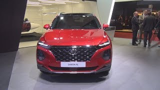 Hyundai Santa Fe HTRAC (2018) Exterior and Interior