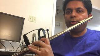 Anand chauhan on western flute