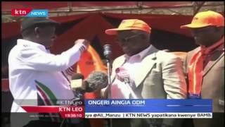 KTN Leo: Sam Ongeri ajiunga rasmi na chama cha ODM