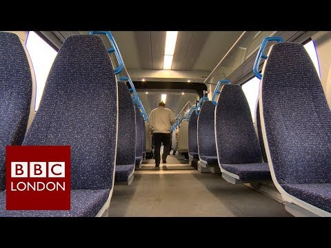 The train seats that are like sitting on an 'ironing board' - BBC London News