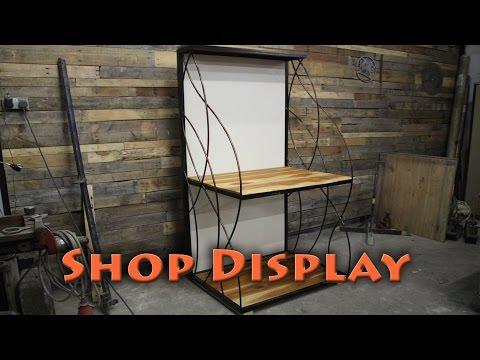BorntoForge - Shop Display Stand