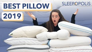 The Best Pillows of 2019 - Reviewing the Top 7 Pillows for Every Sleeper!