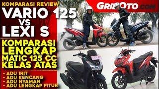 Komparasi Lengkap Honda Vario 125 vs Yamaha LEXI S l GridOto